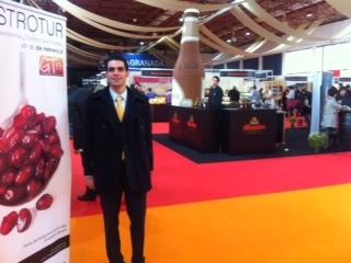 Julio Morales, de Galdón Software, durante su jornada en Gastrotur 2013.