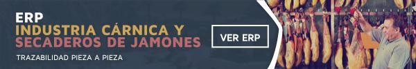 Software ERP Industria Cárnica y Secaderos de Jamones