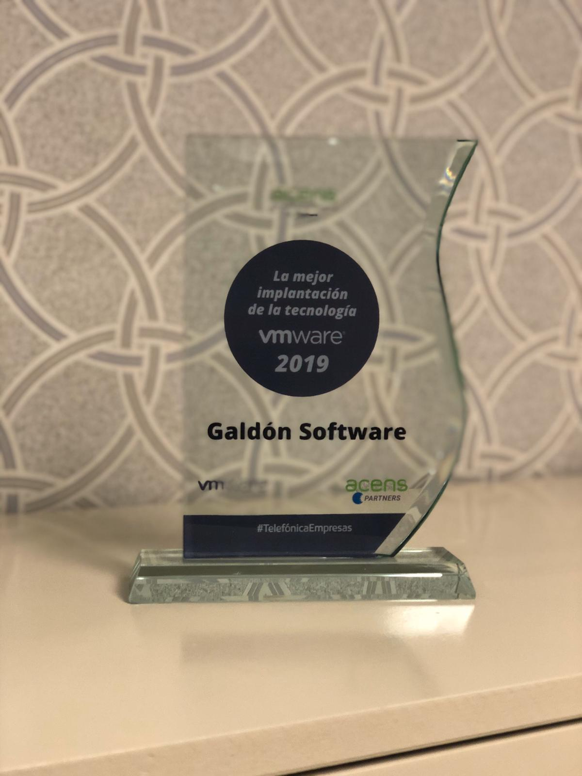 premio VMware 2019 by Acens