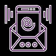 icono conexión correo