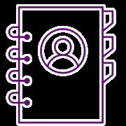 Software Correo Electrónico Centralizado - Icono contactos centralizados