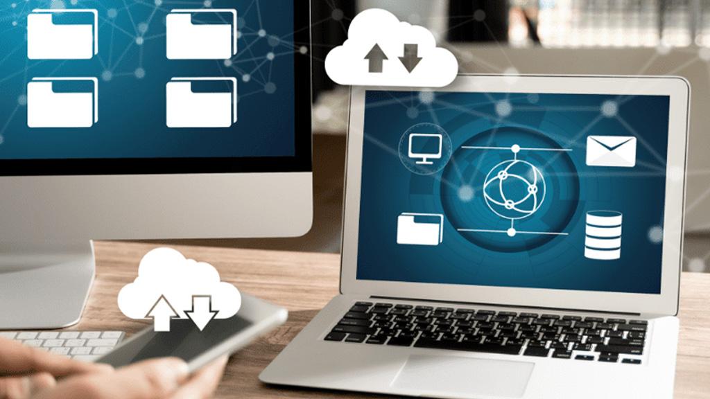 Con gsBase pueden subirse de forma fiable y rápida documentos de cualquier tamaño a su espacio de almacenamiento en cloud