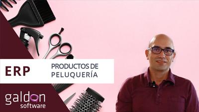 ERP Productos de Peluquería